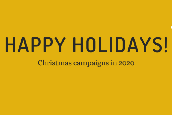 Christmas campaigns – 2020